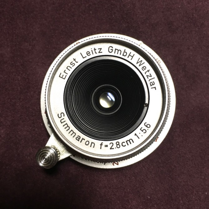 收藏級 最後期 紅字 Leica summaron 28/5.6 ltm