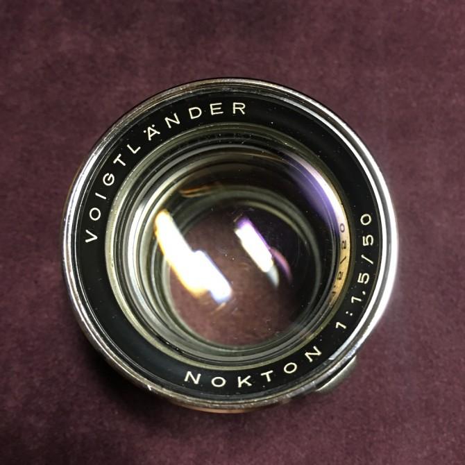 老福 Voigtlander Old Nokton 50/1.5 至尊口