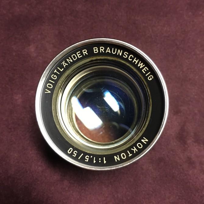 極罕有 老福 Voigtlander Braunschweig Nokton 50/1.5 Ltm