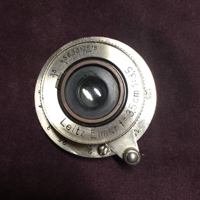 最早期 Leica elmar 35/3.5 ltm nickel