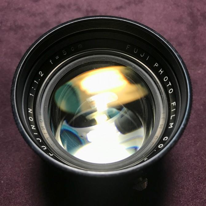 極新 Fujinon 5cm/1.2 Ltm