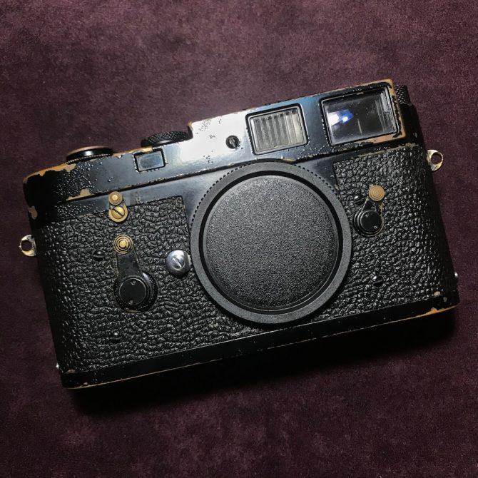 早期啞油 黑漆 Leica M2 Black Paint 100% Original