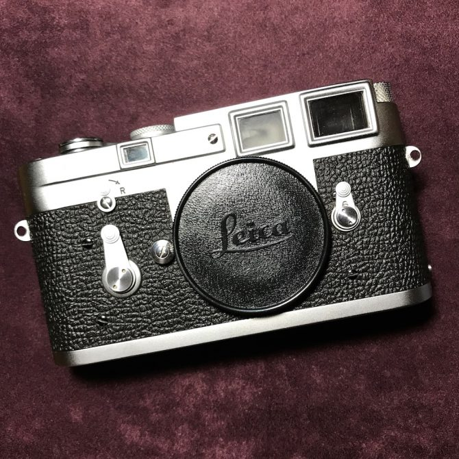 99新 最後500部 Leica M3