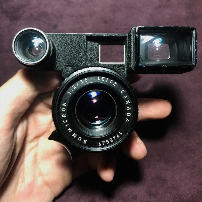 黑八妹 Leica Summicron 35/2 Black Paint Goggles