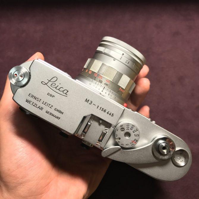 收藏級 最後批次 Leica M3 Summicron 50/2 Rigid Chrome