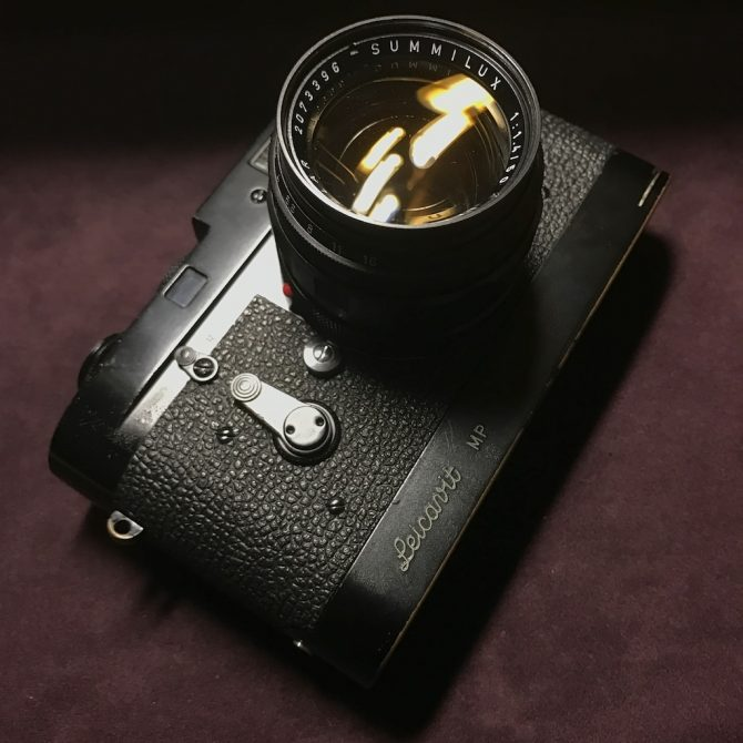 大珍品 黑漆 Leica M2 Summilux 50/1.4 Leicavit MP Black Paint