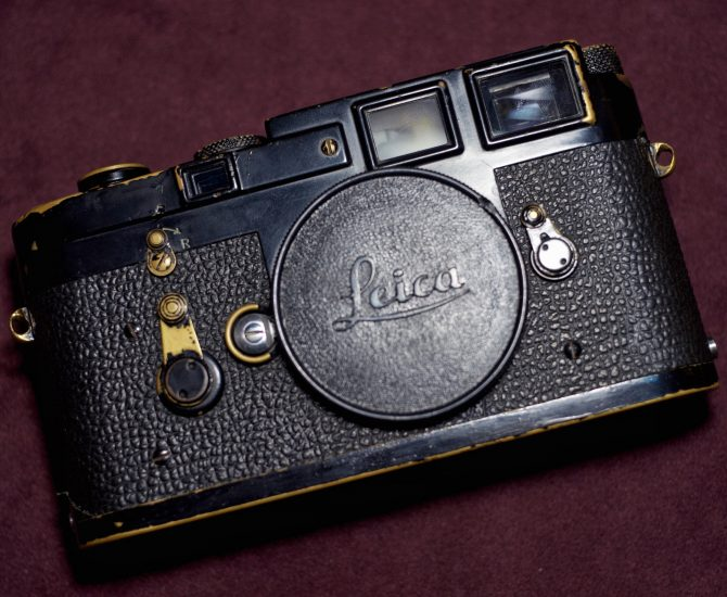 "早期黑漆 Leica M3 993xxx Black Paint Early ""Matte Black Paint"""