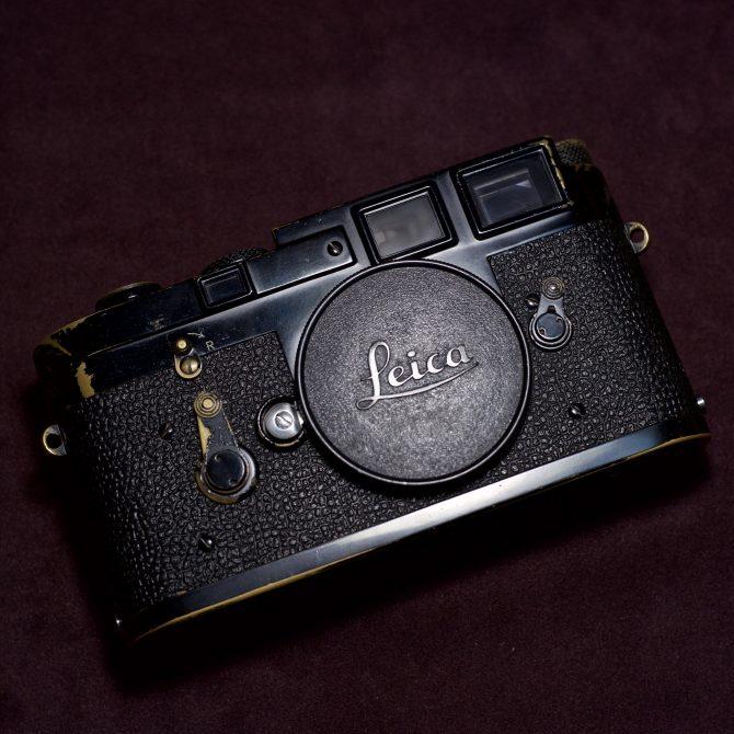 黑漆 Leica M3 Black Paint