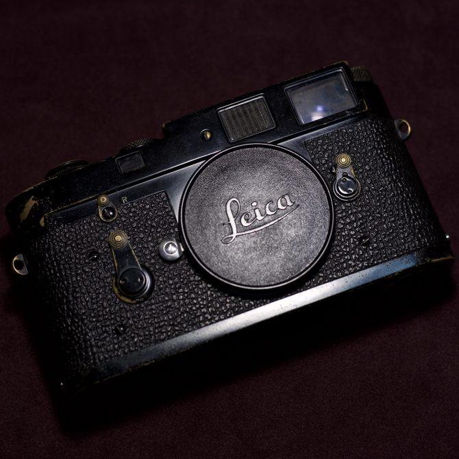 頂級黑漆 Leica M2 Black Paint