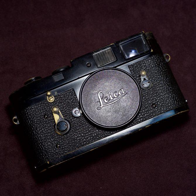 黑漆 Leica M2 Black Paint