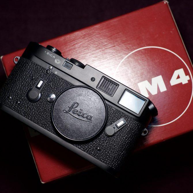 珍品 Leica M4 Midland Black 50 Jahre Anniversary