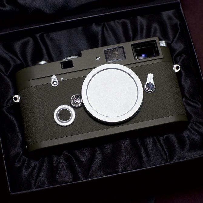 """大珍品 Leica MP Olive Summilux 35/1.4 ASPH  """"Kyoto"""" Special Edition"""