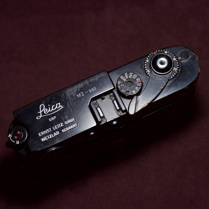 大珍品 Leica M2 Black Paint