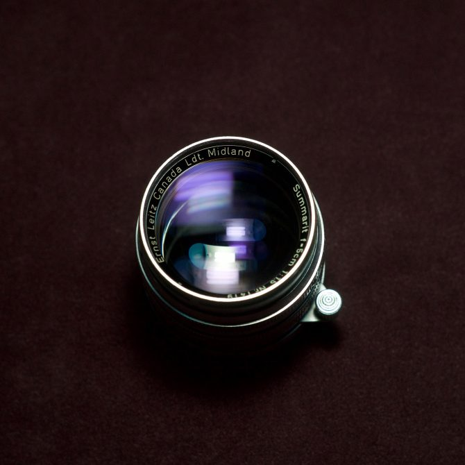 """珍品 Leica Summarit 5cm/1.5 Ltm """"Ernst Leitz Canada Ldt. Midland"""""""