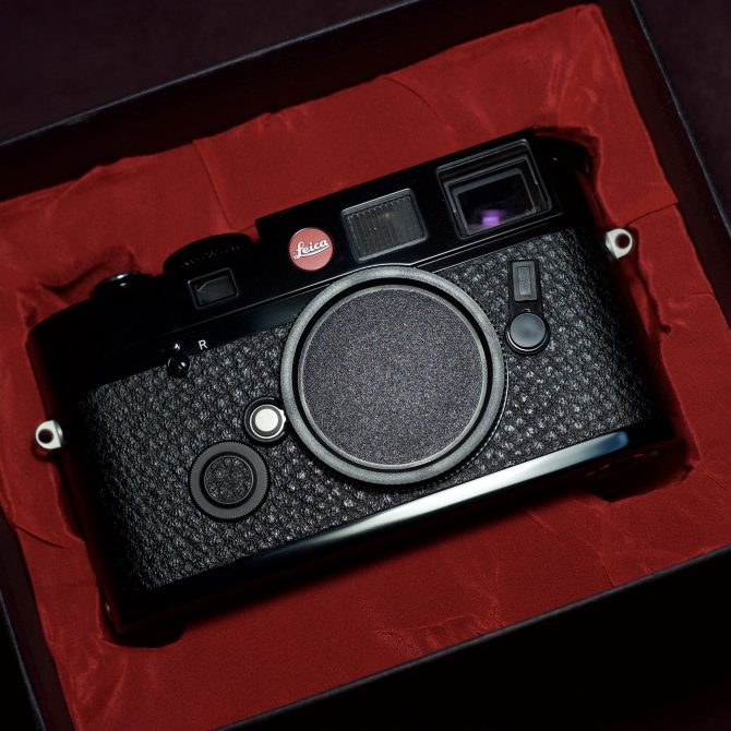 Leica M6 TTL 0.85 Black Paint Öresundsbron Special Edition 10492