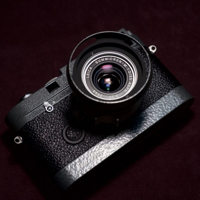 Leica MP 0.72 Hammertone LHSA 1968-2003 Special Edition