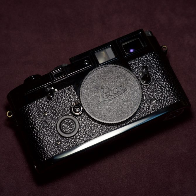 珍品 Leica M3J Black Paint Limited Edition 10330