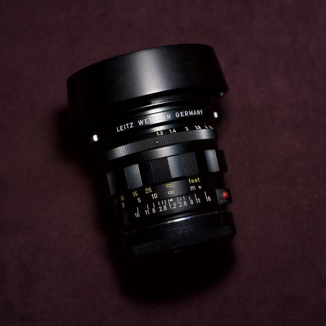 Leica Noctilux 50/1.2 Double Aspherical 11820