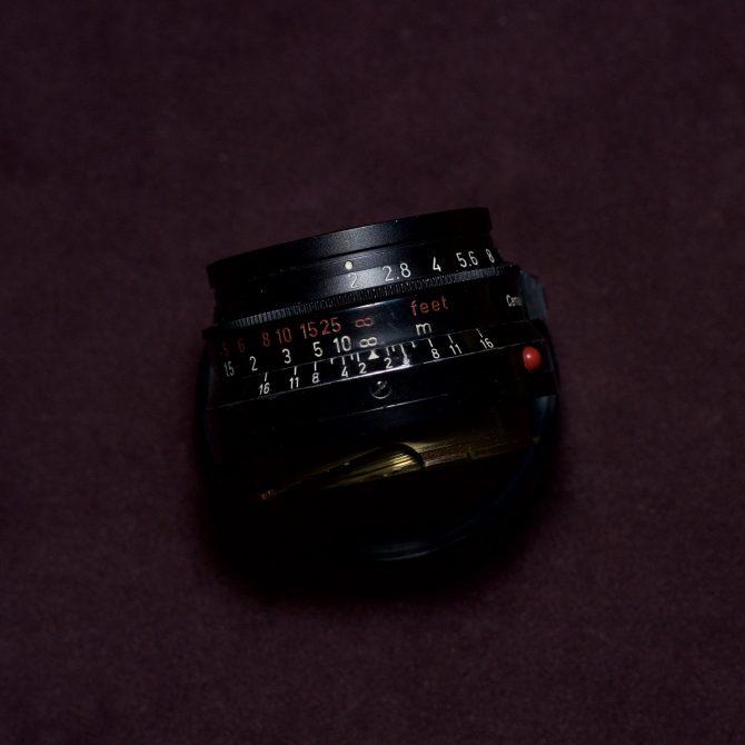 大珍品 Leica Summicron 35/2 8 Elements Black Paint Brass Mount