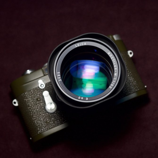 珍品 Leica Noctilux 50/1.0 v4 6bit Last Batch