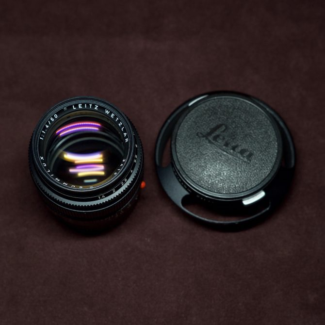 Leica Summilux 50/1.4 v3 Black