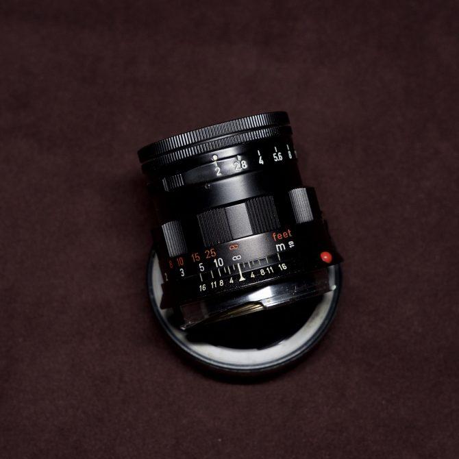Leica Summicron 50/2 Black Paint Rigid
