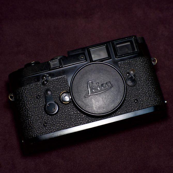 大珍品 Leica M3 Black Paint