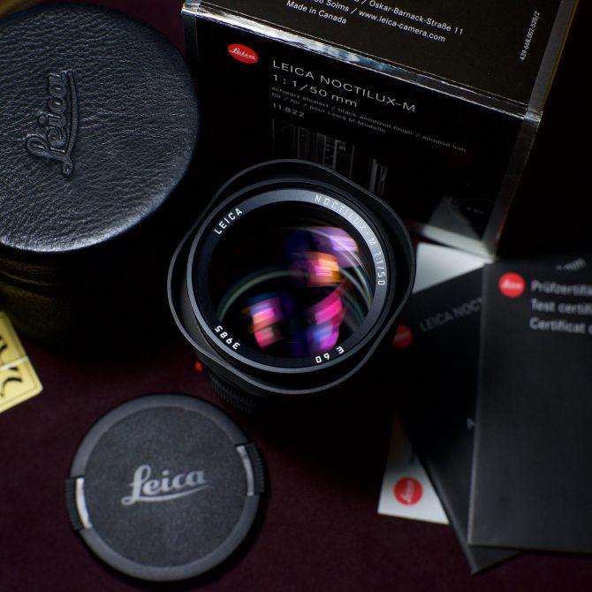珍品 Leica Noctilux 50/1.0 v4 E60 6-bit 11822