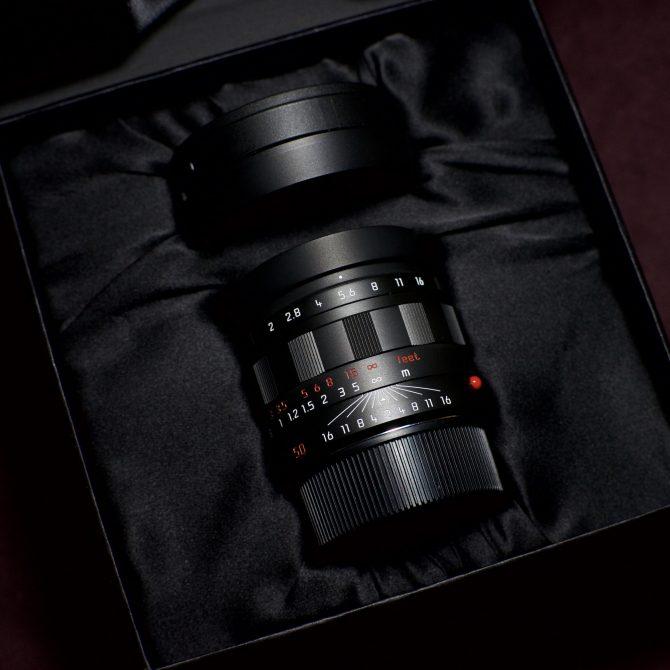 Leica APO 50/2 Summicron ASPH Black Chrome 11811
