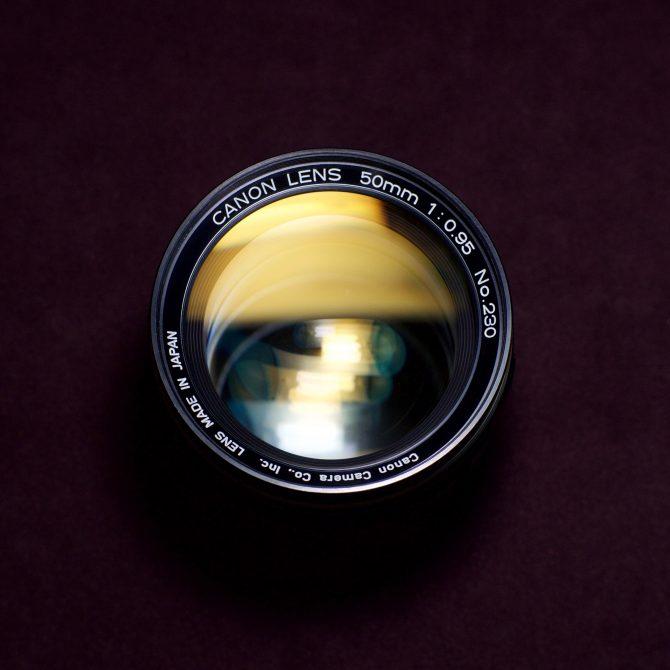 Canon 50/0.95 Leica M mount