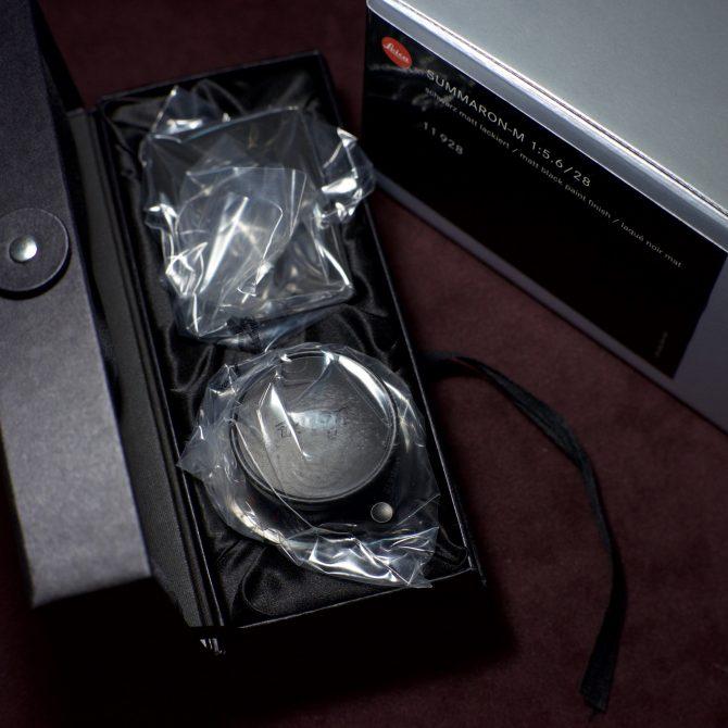 Leica Summaron 28/5.6 Matte Black Paint 11928