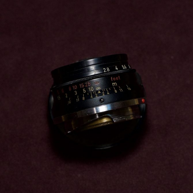 大珍品 Leica Summicron 35/2 8elements Black Paint