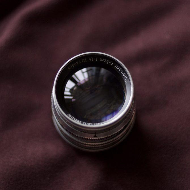 """Leica Summarit 50/1.5 Ltm """"First Batch"""""""
