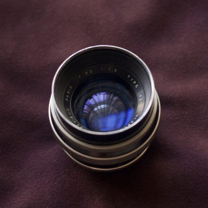 Angenieux S21 50/1.5 M42 mount