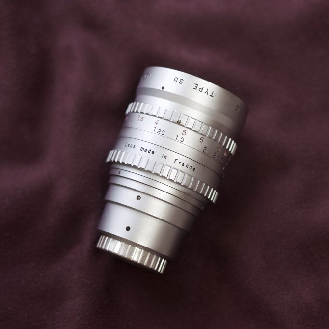 Angenieux 50/1.5 Type S5 Original C mount
