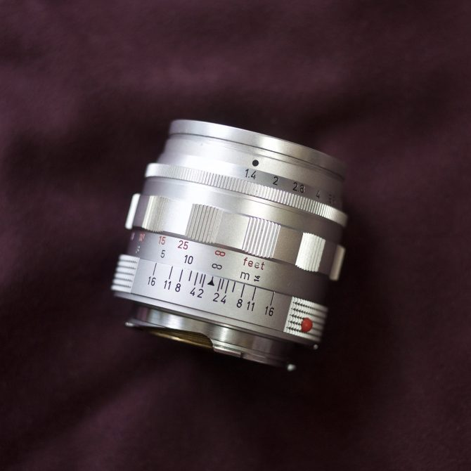 Leica Summilux 50/1.4 v2 Silver