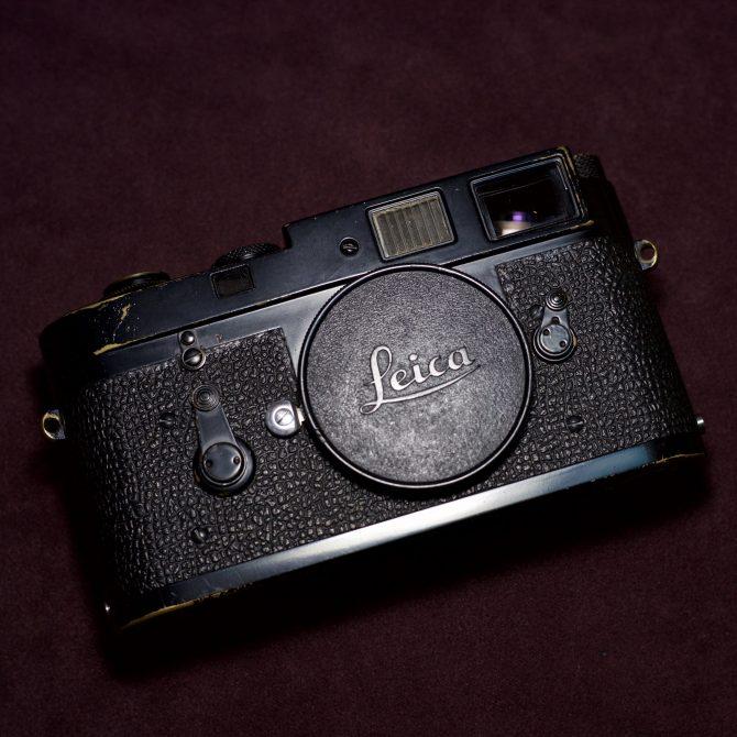 珍品 Leica M2 Black Paint