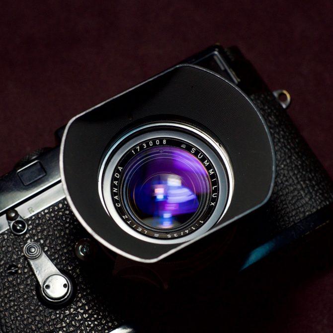 珍品 Leica Summilux 35/1.4 Steel Rim First 100 until