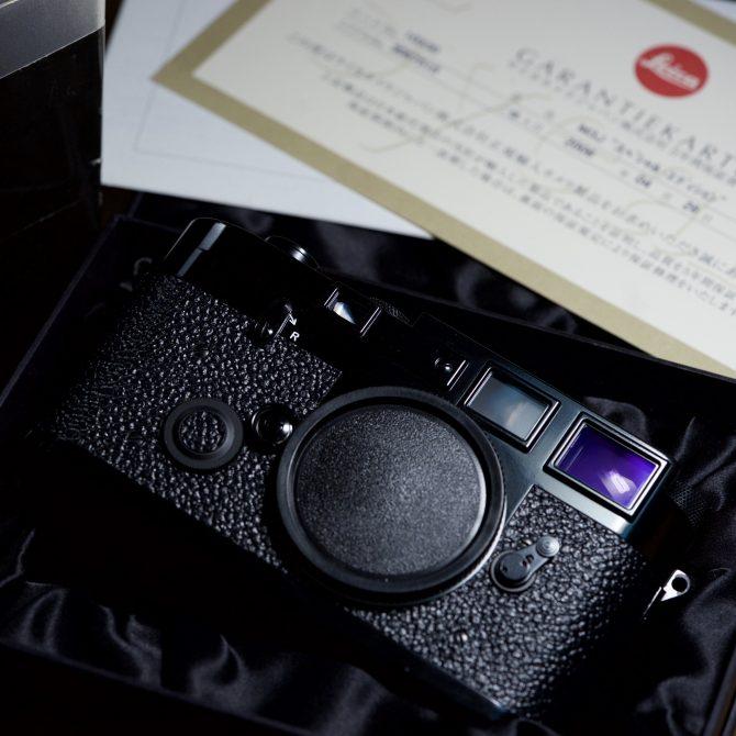 大珍品 Leica M3J Black Paint Limited Edition 10330