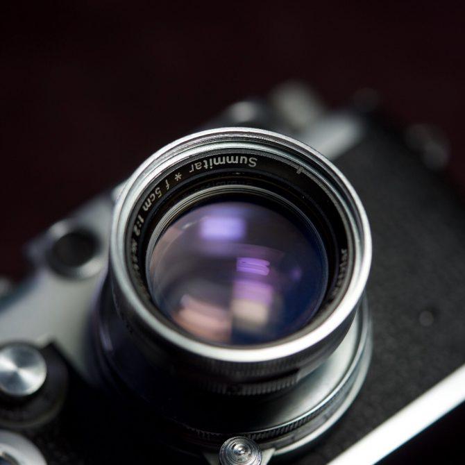 "珍品 Leica Summitar* 5cm/2 Ltm Summicron ""Prototype"""
