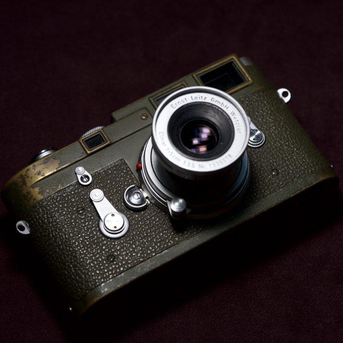 大珍品 Leica M3 Olive Bundeseigentum Military Set