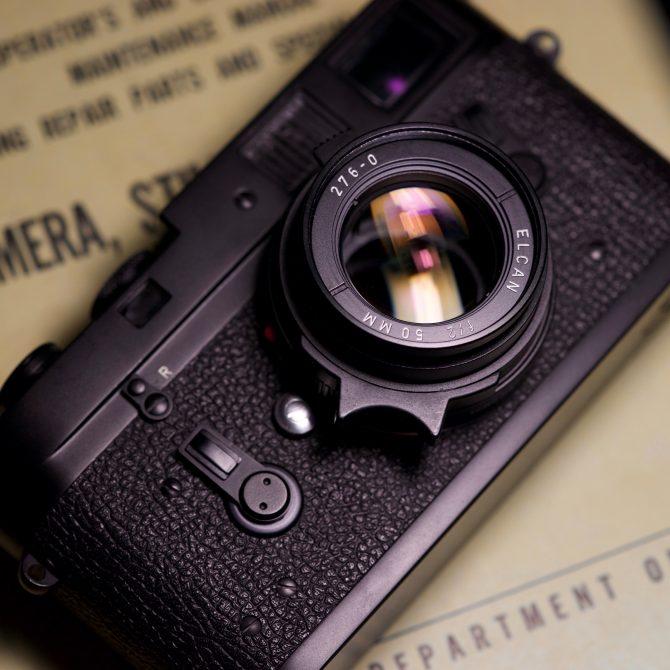 """大珍品 Leica KE-7A Elcan 50/2 """"Civilian"""" set"""