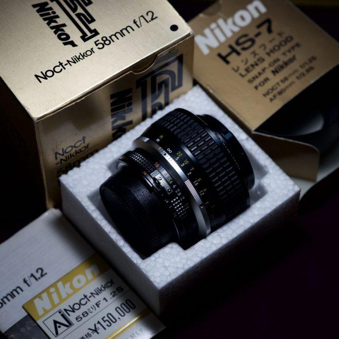 珍品 Nikon 58/1.2 Noct-NIKKOR