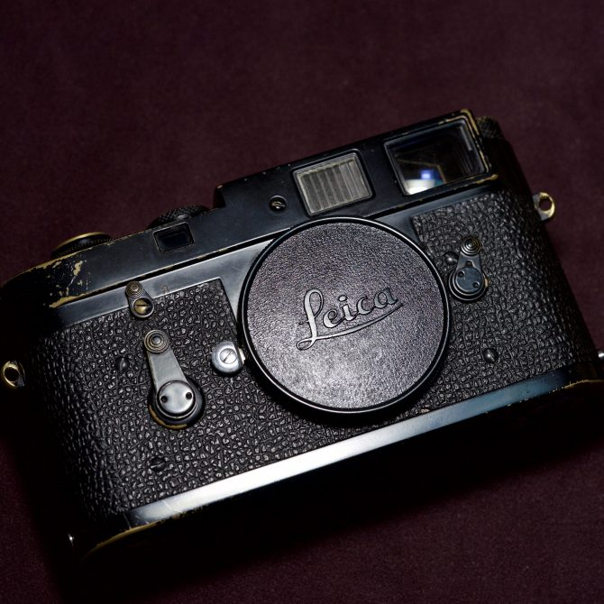 "Leica M2 ""Matte"" Black Paint"
