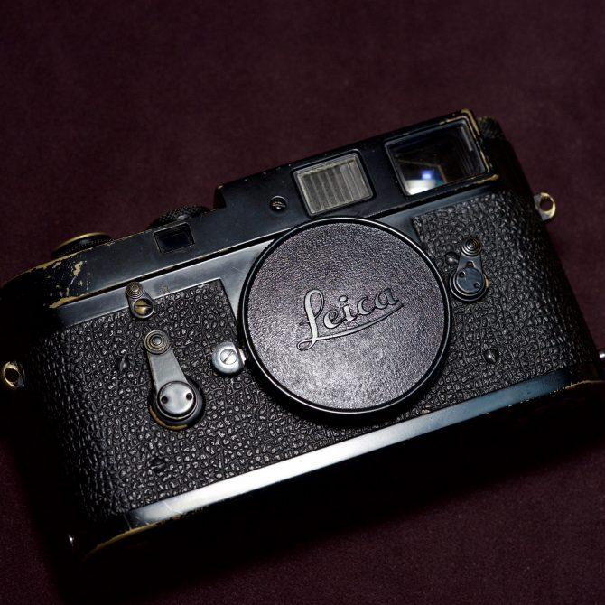 """Leica M2 """"Matte"""" Black Paint"""