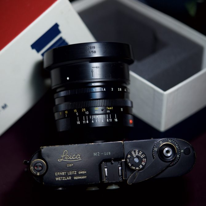 珍品 Leica Noctilux 50/1.0 v2 E58 with original box