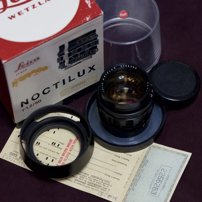 大珍品 Leica Noctilux 50/1.2 Aspherical 11820 New Old Stock