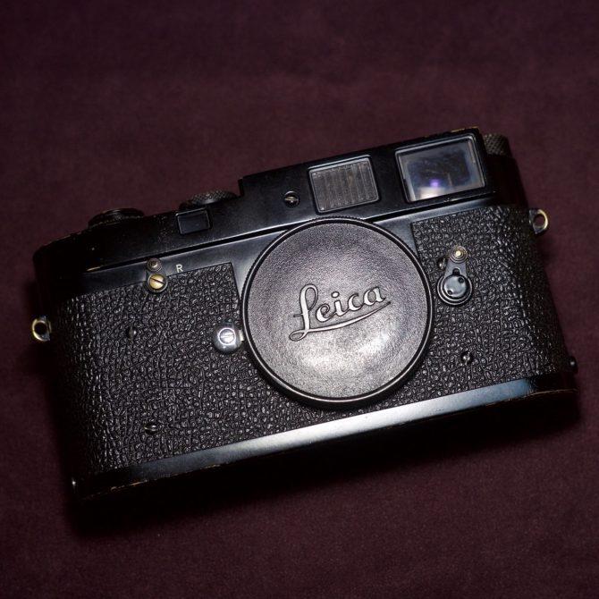 """大珍品 Leica M2 """"non self-timer"""" Black Paint """"949"""" first batch"""