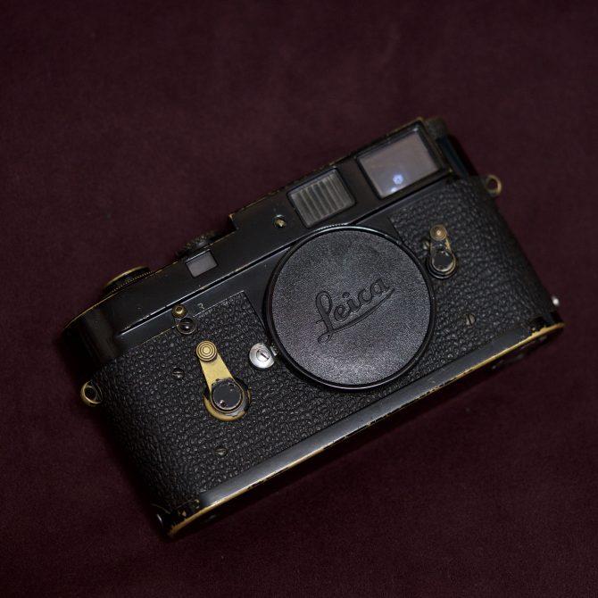 "珍品 Leica M2 Black Paint ""222"" lucky number"