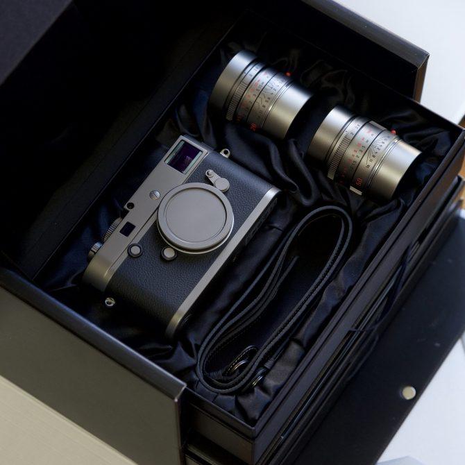 """Leica M-P(Typ 240) """"Titanium"""" Special Edition"""